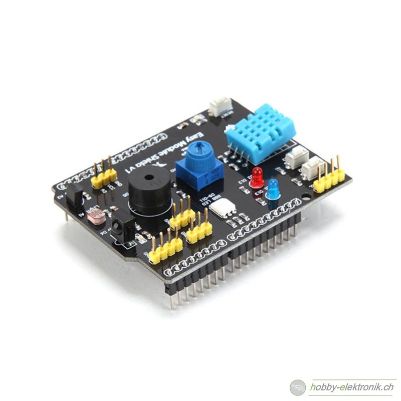 Arduino multifunktions sensor led buzzer shield online