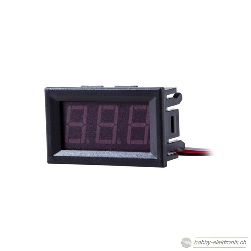 Mini Voltmeter Digital 30 V 0.56 Zoll für Einbau - Online Shop ...