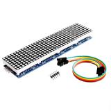 4-Fach Matrix Dispay Modul  Rot 4x8x8 MAX7219