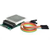 8x8 LED Matrix Display Modul Rot mit MAX7219