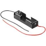 Batteriehalter Batteriefach 1 x AA Mignon mit Kabel