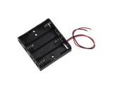 Batteriehalter Batteriefach 4 x AA mit Kabel