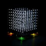 DIY Bausatz 3D LED Cube 8 x 8 x 8 Blau