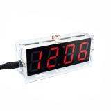 DIY LED Uhr Bausatz mit Wecker und Temperartursensor Rot