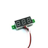 Digital Voltmeter 0.28 Zoll 0-100V Rot für Einbau