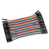 Dupont Kabel F-F 10cm 20Stk