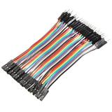 Dupont Kabel M-F 10cm 20Stk