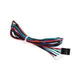 Kabel für Schrittmotor 6 Pin JST XH2.54 zu 4 Pin Dupont 1 m