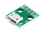 Micro USB Breakout Board 5 Pin