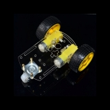 Roboter Chassis Kit mit 2 Motoren und Rädern